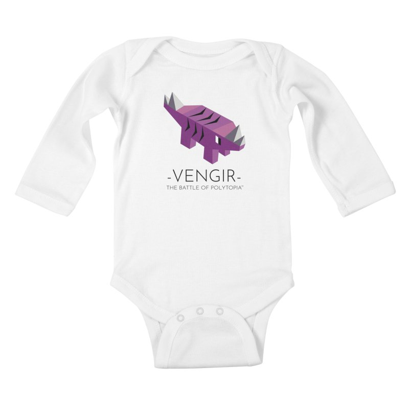VENGIR TEE Kids Baby Longsleeve Bodysuit by Polytopia shop of souvenirs