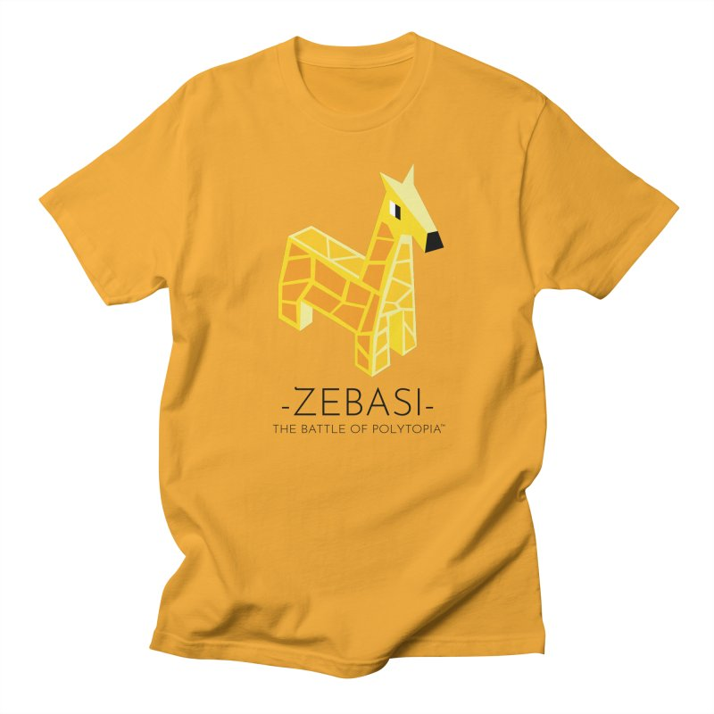 ZEBASI TEE in Men's Regular T-Shirt Gold by Polytopia shop of souvenirs