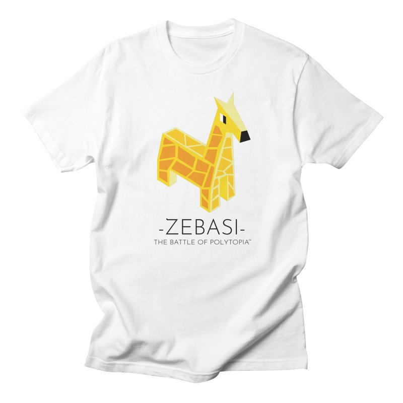 ZEBASI TEE Men's Regular T-Shirt by Polytopia shop of souvenirs