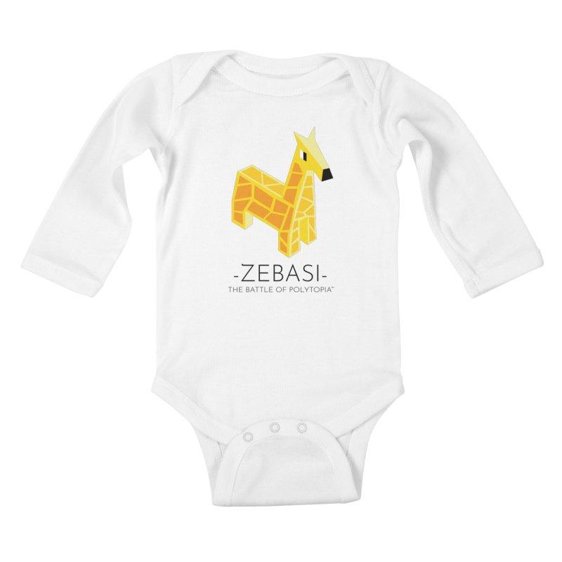 ZEBASI TEE Kids Baby Longsleeve Bodysuit by Polytopia shop of souvenirs