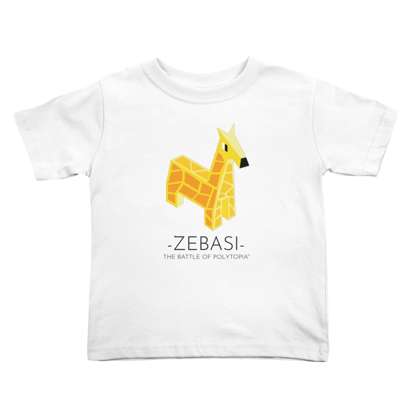 ZEBASI TEE Kids Toddler T-Shirt by Polytopia shop of souvenirs