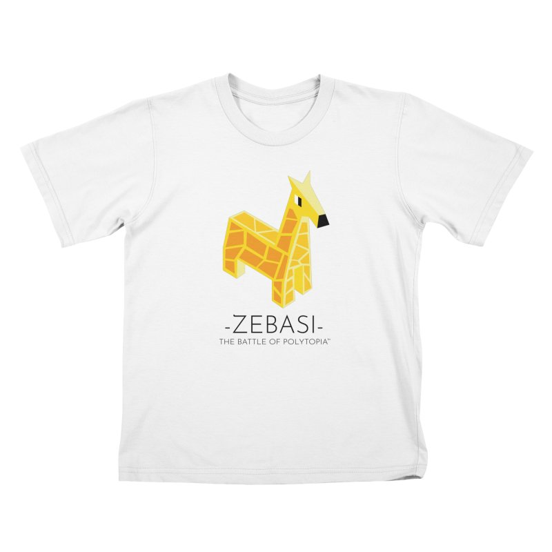 ZEBASI TEE Kids T-Shirt by Polytopia shop of souvenirs