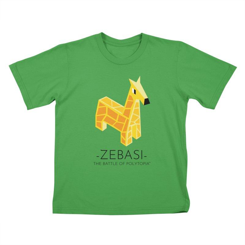 ZEBASI TEE Kids T-Shirt by Polytopia shop of souvenirs
