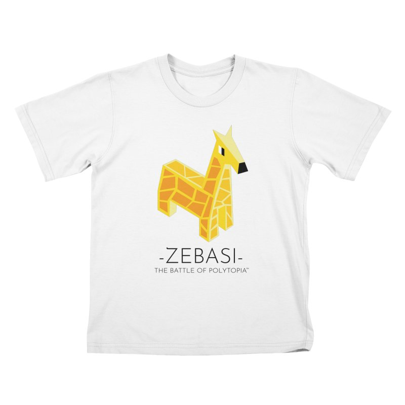 ZEBASI TEE in Kids T-Shirt White by Polytopia shop of souvenirs