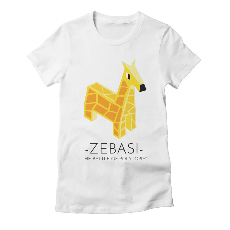ZEBASI TEE Women's Fitted T-Shirt by Polytopia shop of souvenirs
