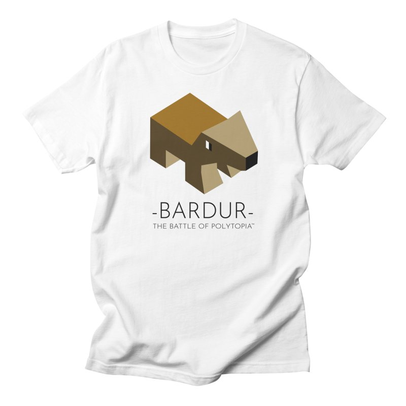 BARDUR TEE in Men's Regular T-Shirt White by Polytopia shop of souvenirs