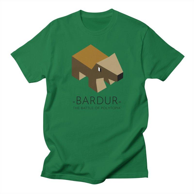 BARDUR TEE Men's Regular T-Shirt by Polytopia shop of souvenirs