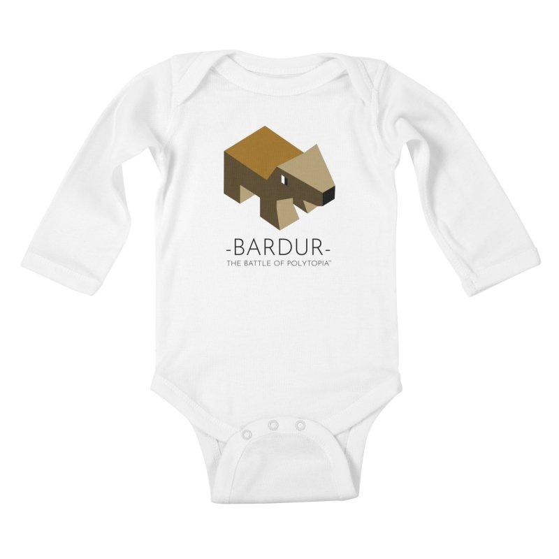 BARDUR TEE Kids Baby Longsleeve Bodysuit by Polytopia shop of souvenirs