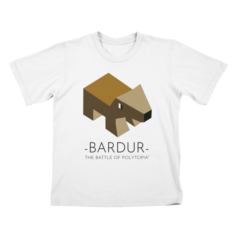BARDUR TEE Kids T-Shirt by Polytopia shop of souvenirs