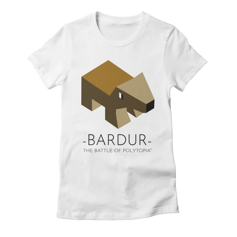 BARDUR TEE Women's Fitted T-Shirt by Polytopia shop of souvenirs