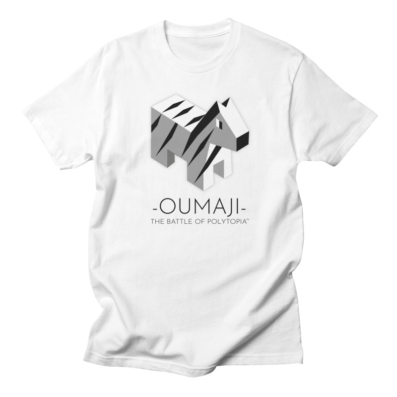 OUMAJI TEE in Men's Regular T-Shirt White by Polytopia shop of souvenirs