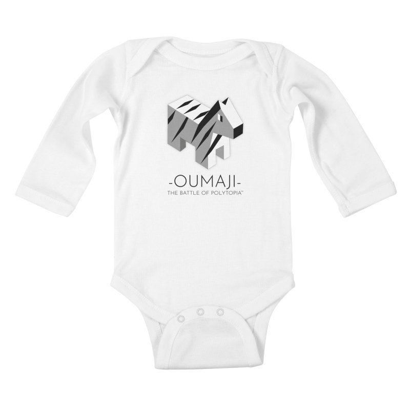 OUMAJI TEE Kids Baby Longsleeve Bodysuit by Polytopia shop of souvenirs