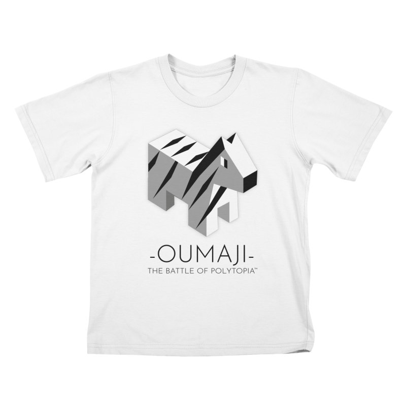 OUMAJI TEE Kids T-Shirt by Polytopia shop of souvenirs