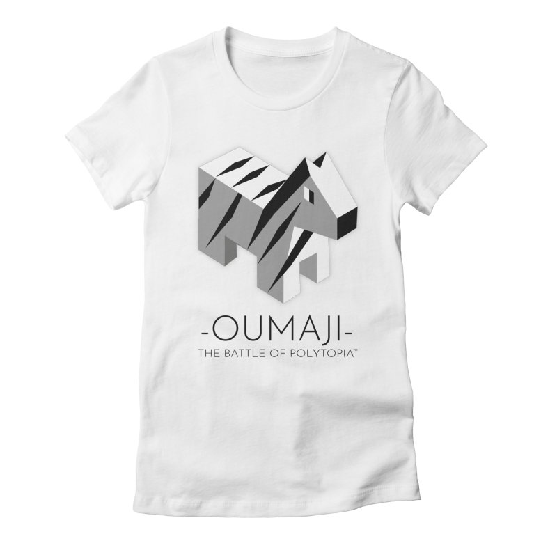 OUMAJI TEE Women's Fitted T-Shirt by Polytopia shop of souvenirs