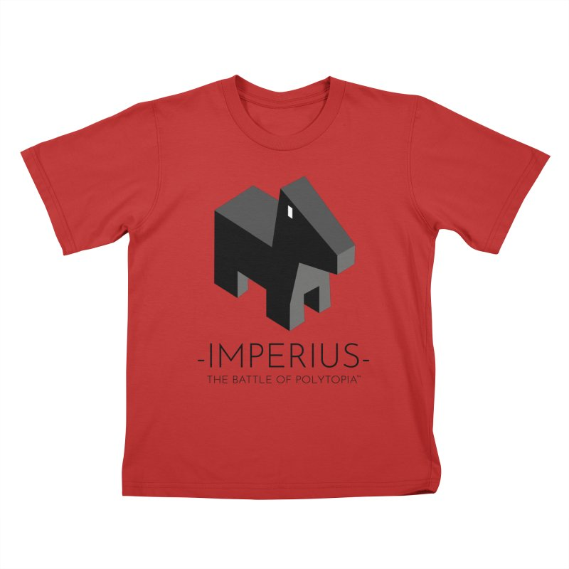 IMPERIUS TEE Kids T-Shirt by Polytopia shop of souvenirs