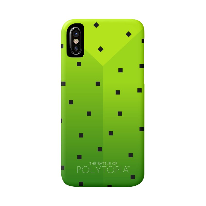 CACTI PHONECASE in iPhone X Phone Case Slim by Polytopia shop of souvenirs
