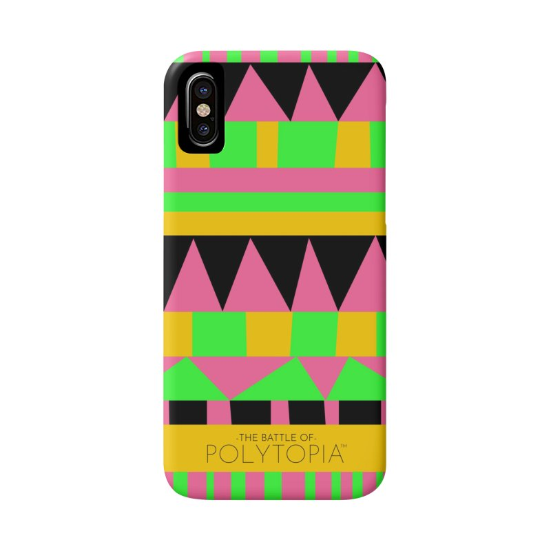 ZEBASI PHONECASE in iPhone X / XS Phone Case Slim by Polytopia shop of souvenirs
