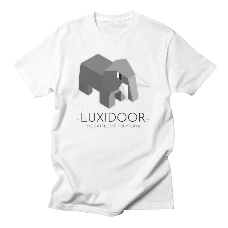 LUXIDOOR TEE Men's Regular T-Shirt by Polytopia shop of souvenirs