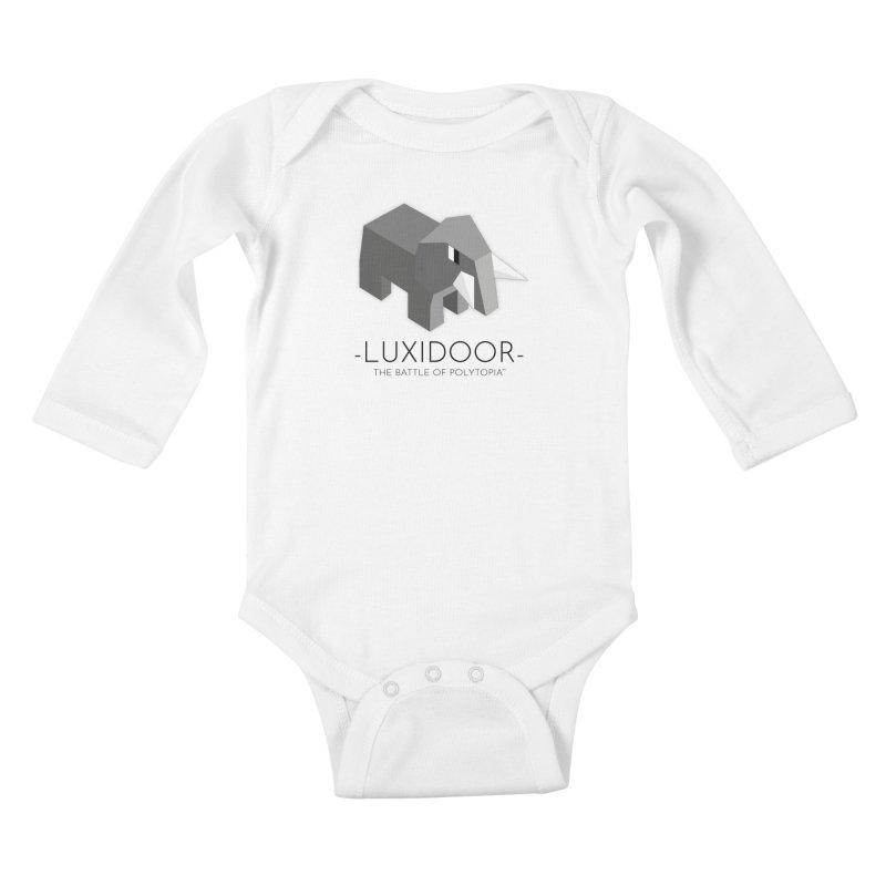 LUXIDOOR TEE Kids Baby Longsleeve Bodysuit by Polytopia shop of souvenirs