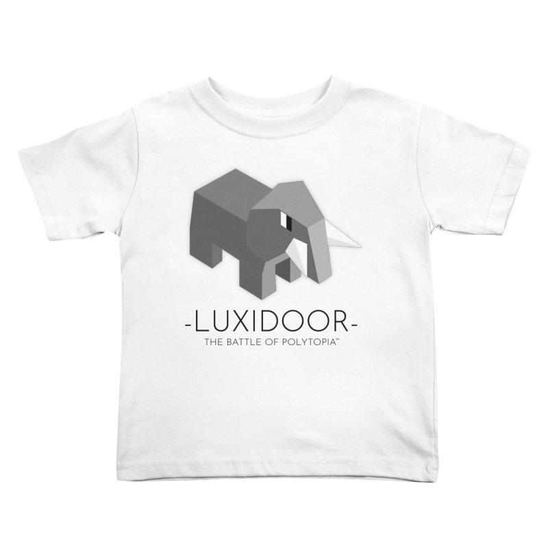 LUXIDOOR TEE Kids Toddler T-Shirt by Polytopia shop of souvenirs