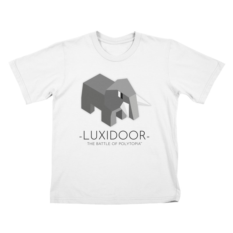LUXIDOOR TEE Kids T-Shirt by Polytopia shop of souvenirs