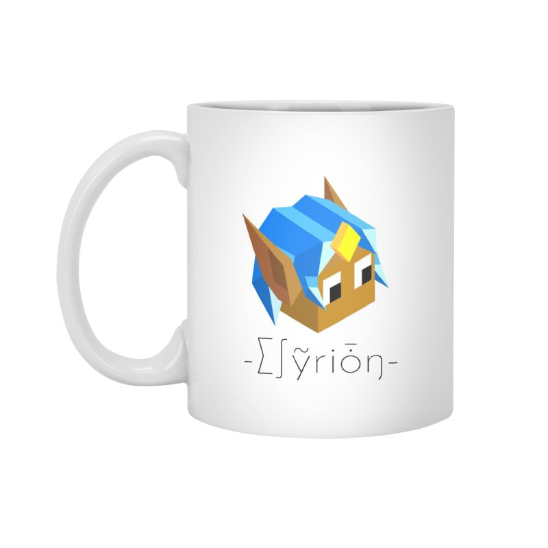 ∑∫ỹriȱŋ MUG in Standard Mug White by Polytopia shop of souvenirs