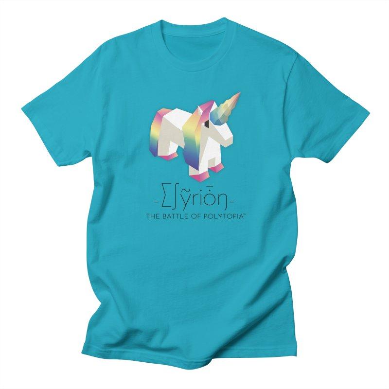∑∫ỹriȱŋ TEE Men's T-Shirt by Polytopia shop of souvenirs