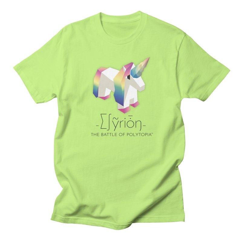 ∑∫ỹriȱŋ TEE Men's Regular T-Shirt by Polytopia shop of souvenirs