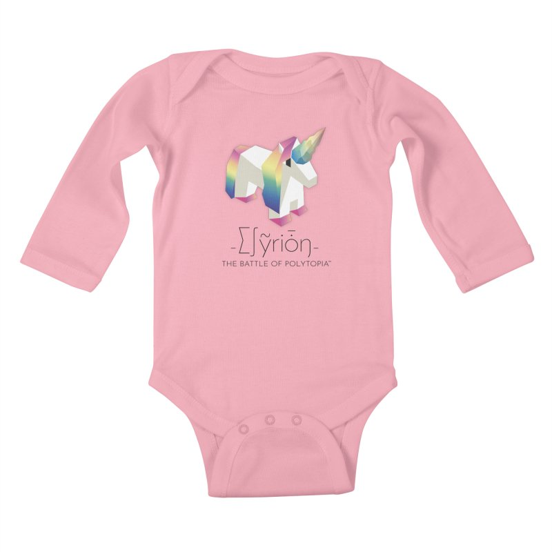 ∑∫ỹriȱŋ TEE Kids Baby Longsleeve Bodysuit by Polytopia shop of souvenirs