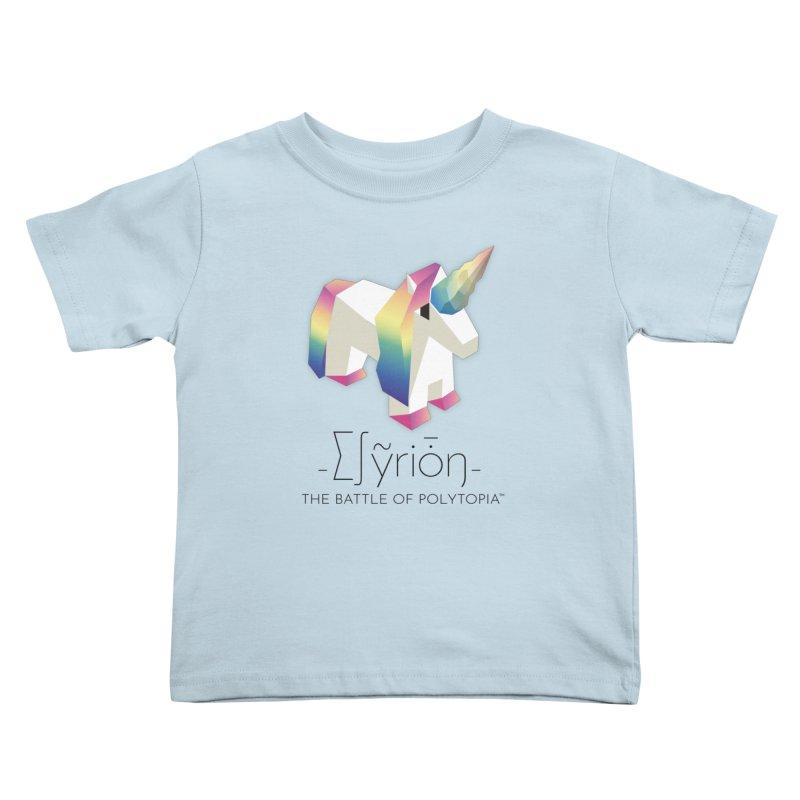 ∑∫ỹriȱŋ TEE Kids Toddler T-Shirt by Polytopia shop of souvenirs