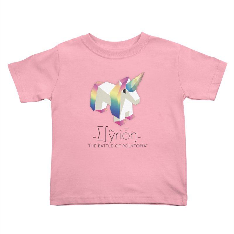 ∑∫ỹriȱŋ TEE Kids Toddler T-Shirt by Polytopia shop of souvenirs