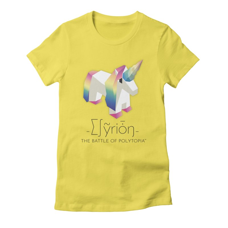 ∑∫ỹriȱŋ TEE Women's T-Shirt by Polytopia shop of souvenirs
