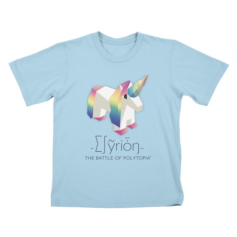 ∑∫ỹriȱŋ TEE Kids T-Shirt by Polytopia shop of souvenirs