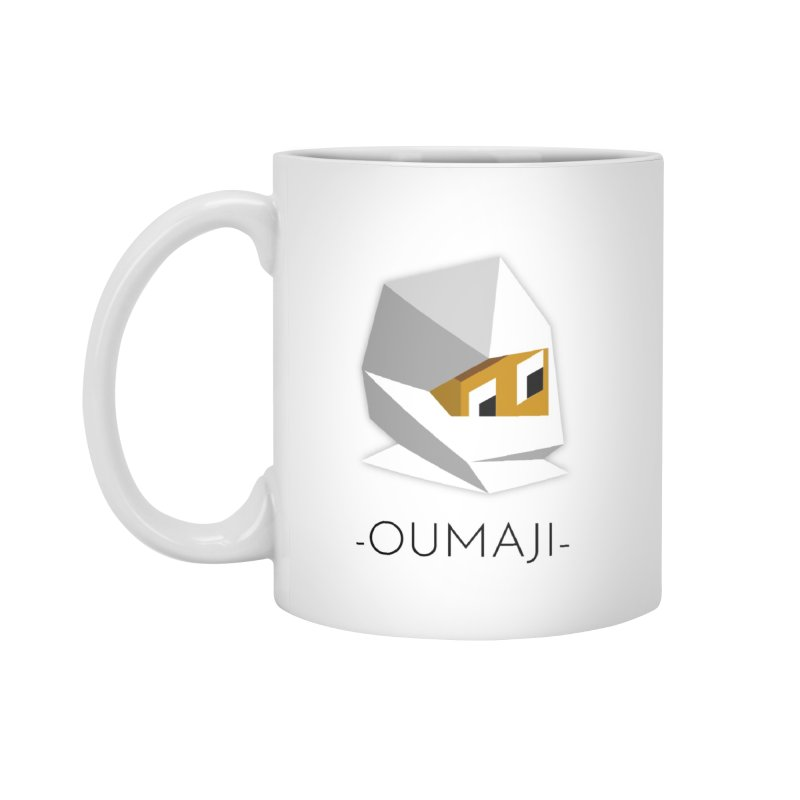 OUMAJI MUG in Standard Mug White by Polytopia shop of souvenirs