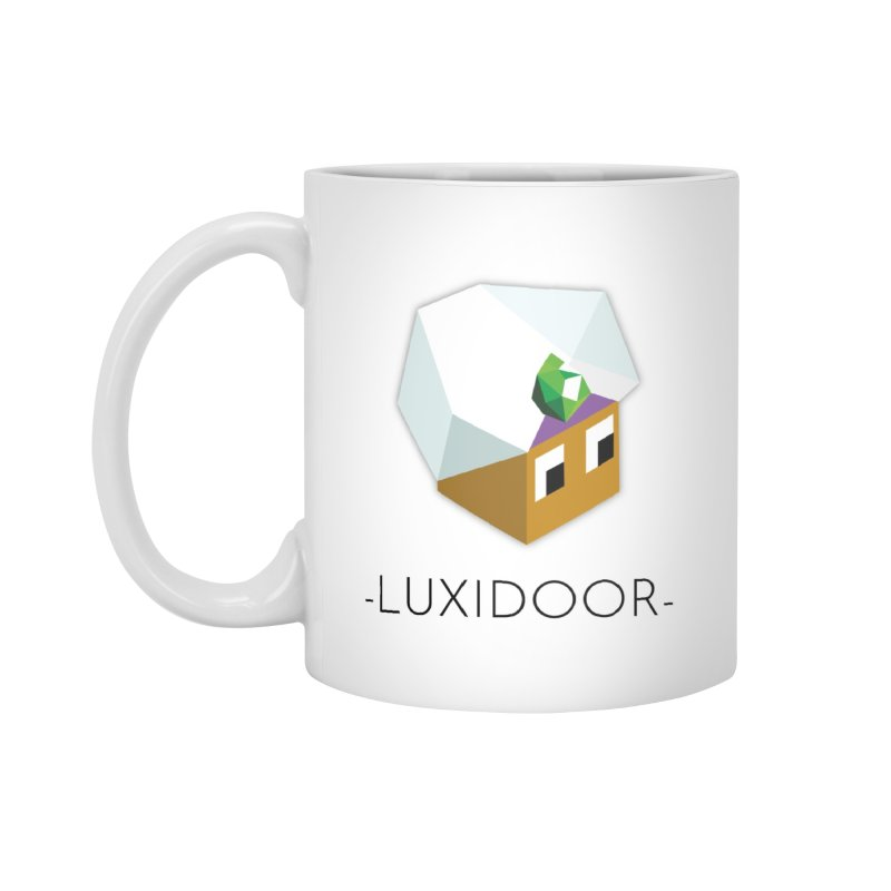 LUXIDOOR MUG Accessories Mug by Polytopia shop of souvenirs