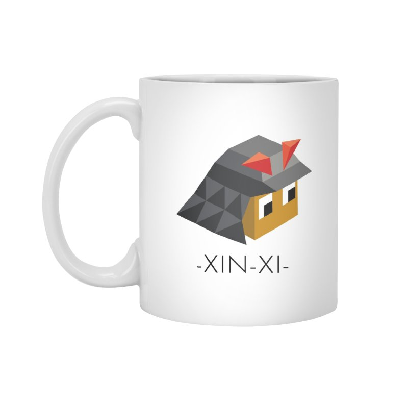 XIN-XI MUG in Standard Mug White by Polytopia shop of souvenirs