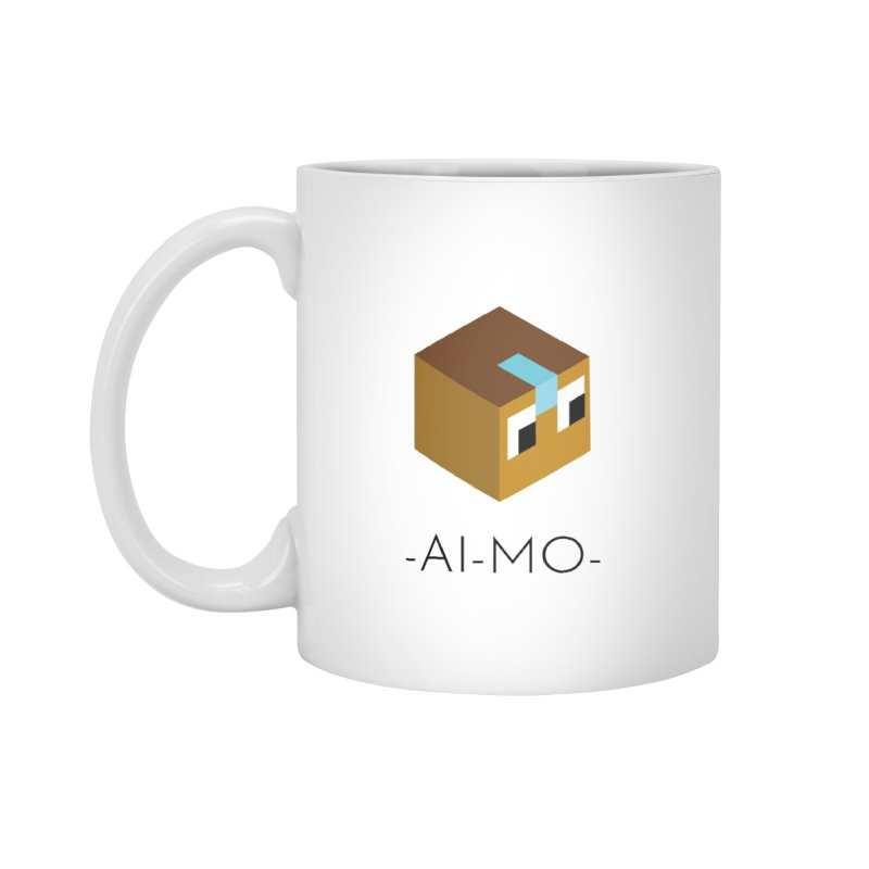 AI-MO MUG in Standard Mug White by Polytopia shop of souvenirs