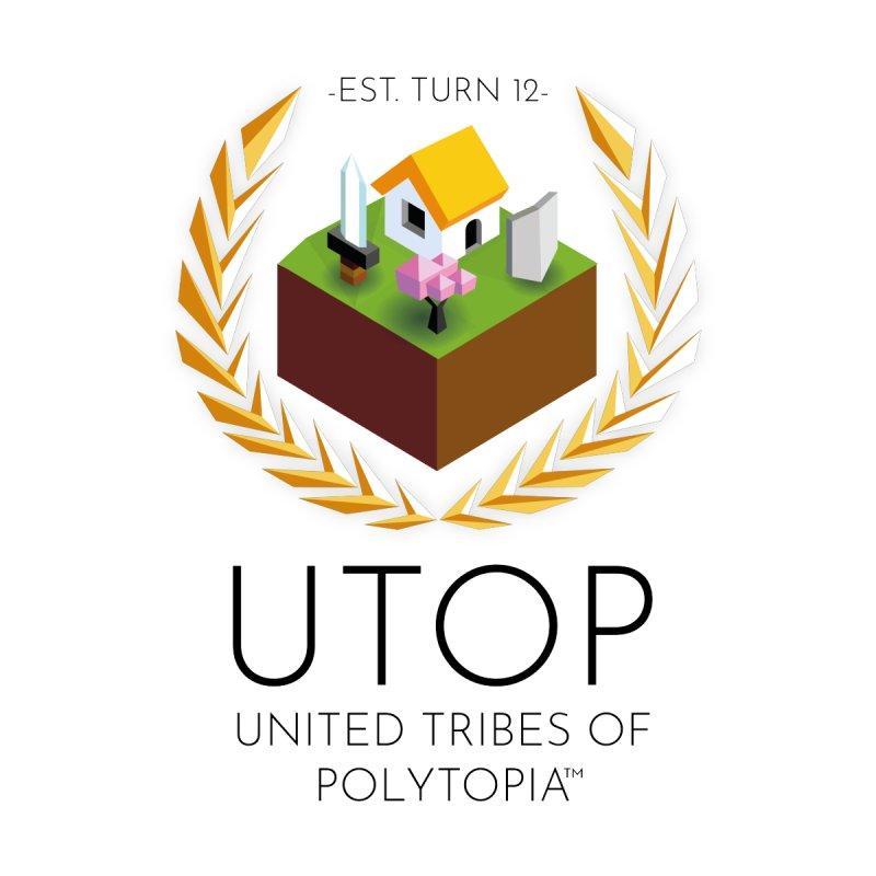 POLYTOPIA TEE WHITE by Polytopia shop of souvenirs
