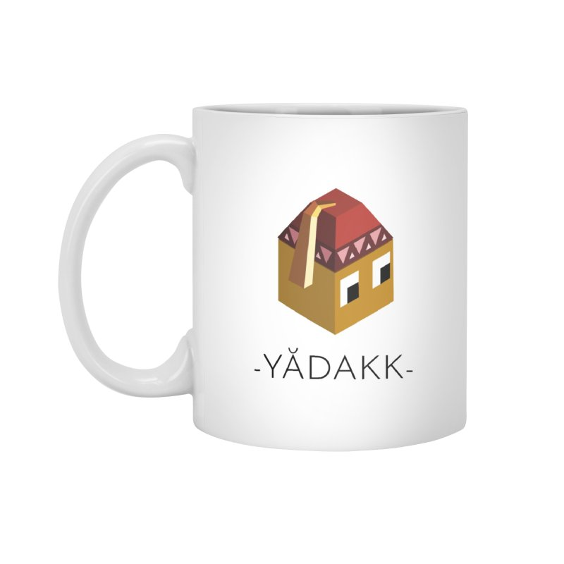 YĂDAKK MUG in Standard Mug White by Polytopia shop of souvenirs