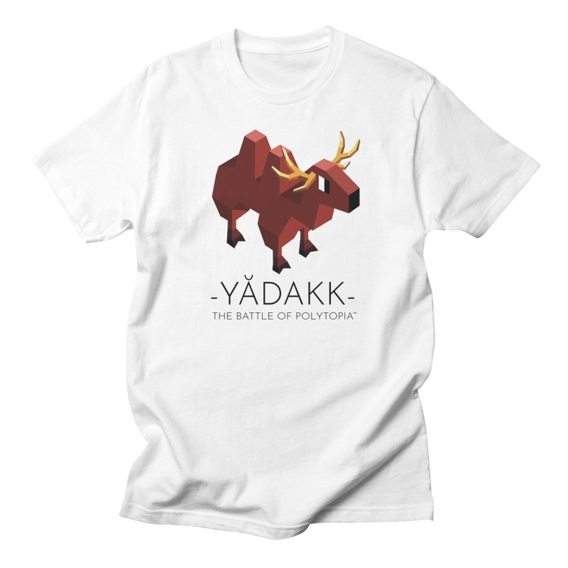YĂDAKK TEE in Men's Regular T-Shirt White by Polytopia shop of souvenirs