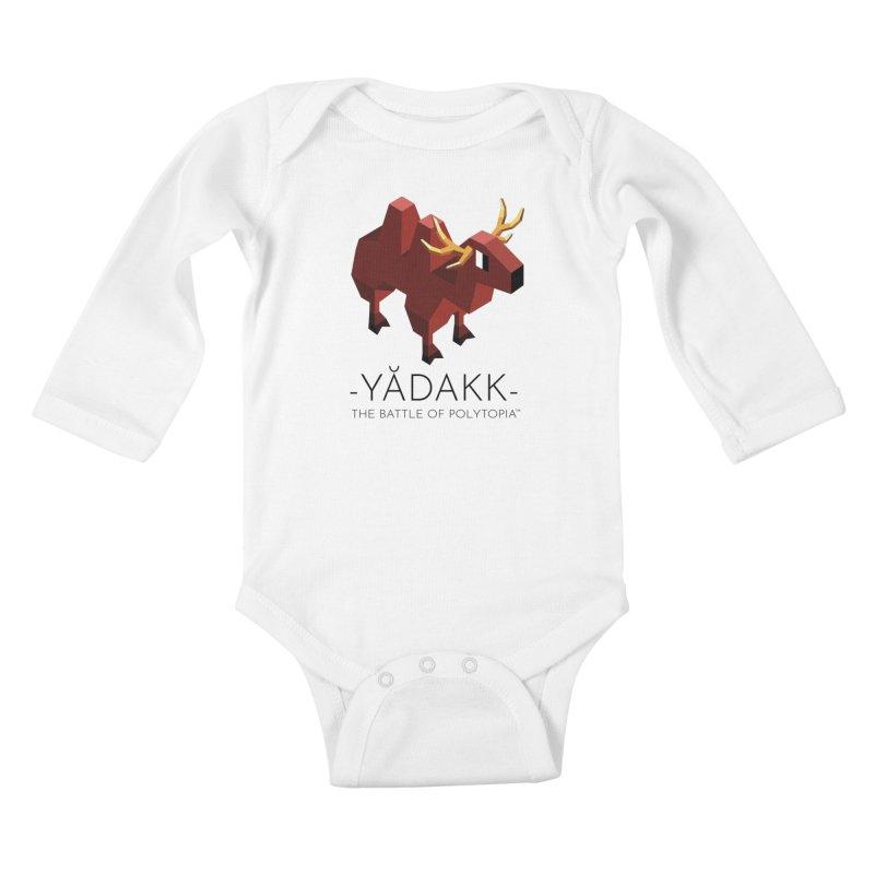 YĂDAKK TEE Kids Baby Longsleeve Bodysuit by Polytopia shop of souvenirs