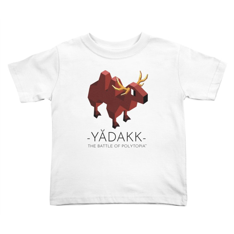 YĂDAKK TEE Kids Toddler T-Shirt by Polytopia shop of souvenirs