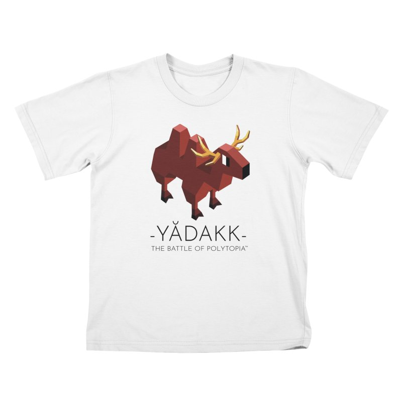 YĂDAKK TEE in Kids T-Shirt White by Polytopia shop of souvenirs