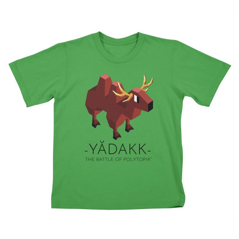 YĂDAKK TEE Kids T-Shirt by Polytopia shop of souvenirs