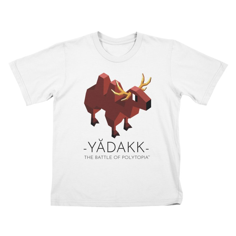 YĂDAKK TEE Kids T-Shirt by Polytopia shop of souvenirs