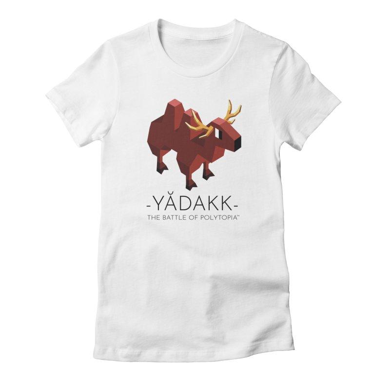 YĂDAKK TEE Women's T-Shirt by Polytopia shop of souvenirs
