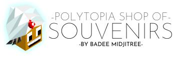 Polytopia shop of souvenirs Logo