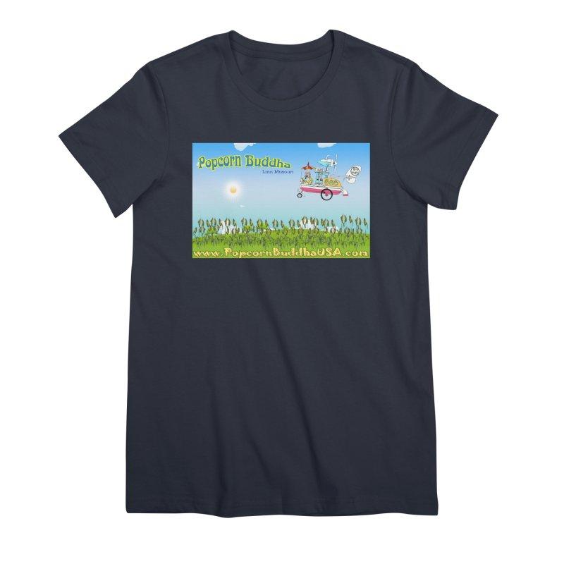 Cornfield Contraption Women's T-Shirt by Popcorn Buddha Merchandise