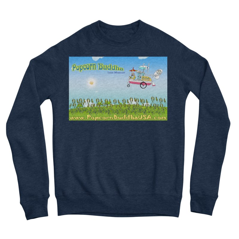 Cornfield Contraption Men's Sweatshirt by Popcorn Buddha Merchandise