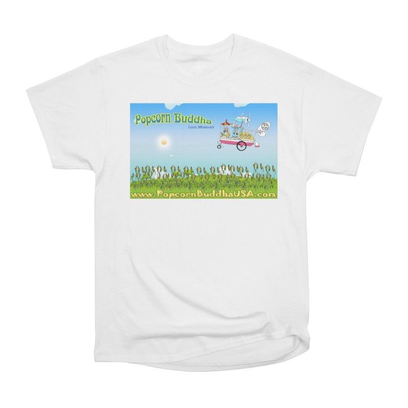 Cornfield Contraption Men's T-Shirt by Popcorn Buddha Merchandise